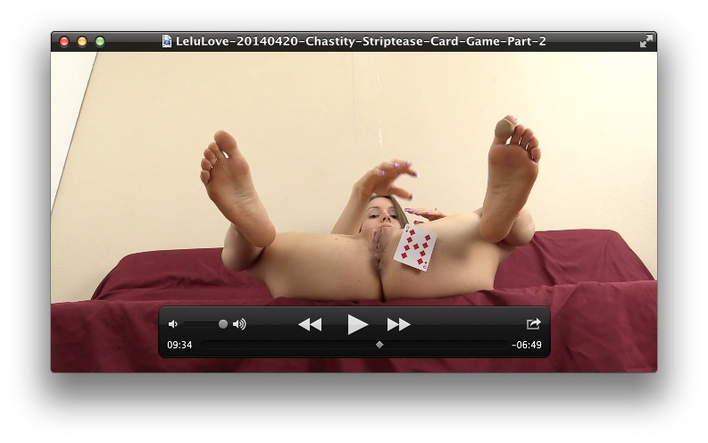 image Chastity striptease card game part 1 ready for you to play
