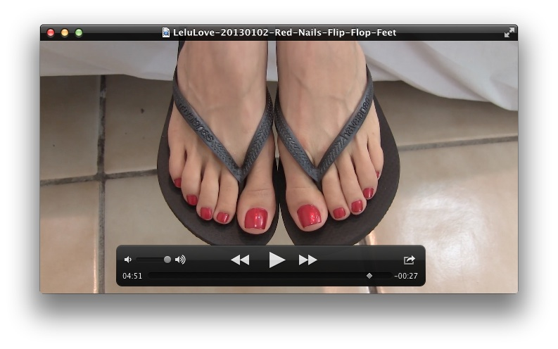 Shoejob in sexi flip flopampfootjob 2 9