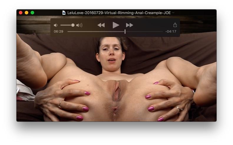 lelu love anal