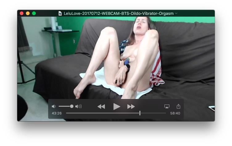 image Lelu lovewebcam bts vibrator orgasm shower and squats